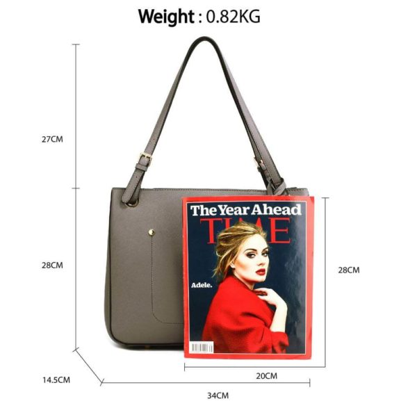 ag00570 – grey anna grace fashion tote handbag_2_
