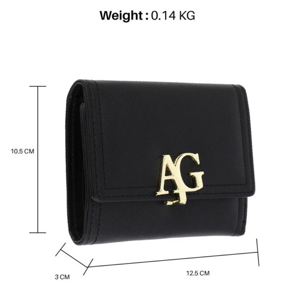 agp1086-black-flap-purse-wallet-with-gold-metal-work__2_