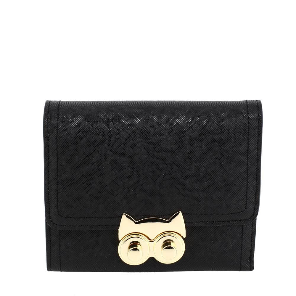 Purse Wallet With Gold Metal Work