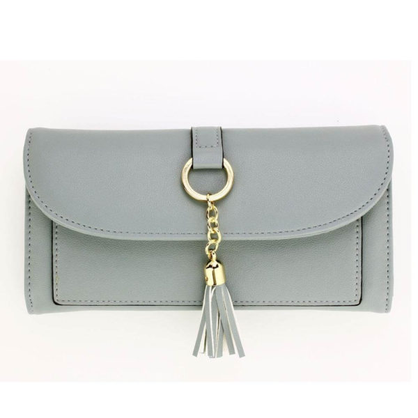 agp1091 – blue flap purse wallet with tassel_1_