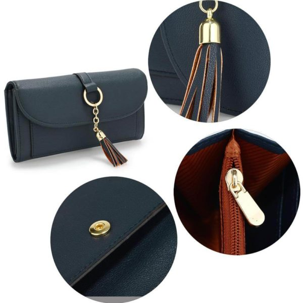 agp1091 – navy flap purse wallet with tassel_4_