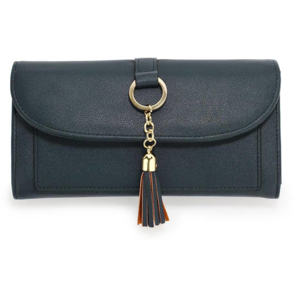 agp1091 – navy flap purse wallet with tassel__1_