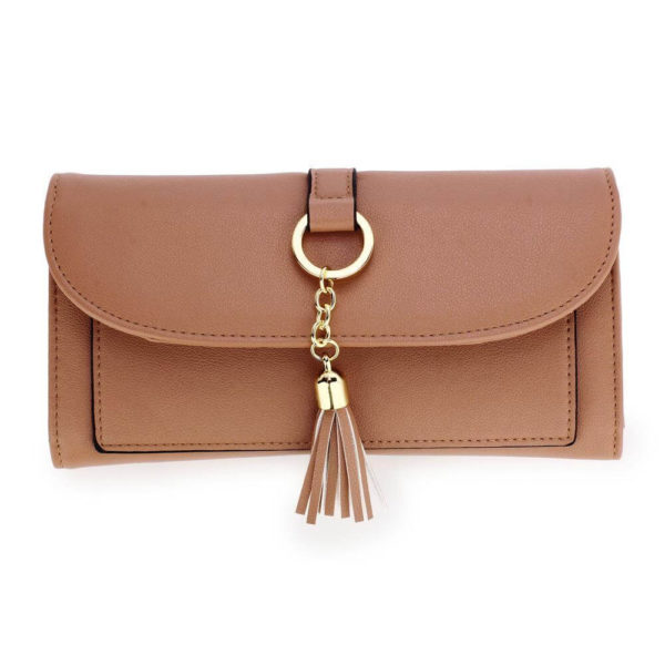 agp1091 – nude flap purse wallet with tassel_1_
