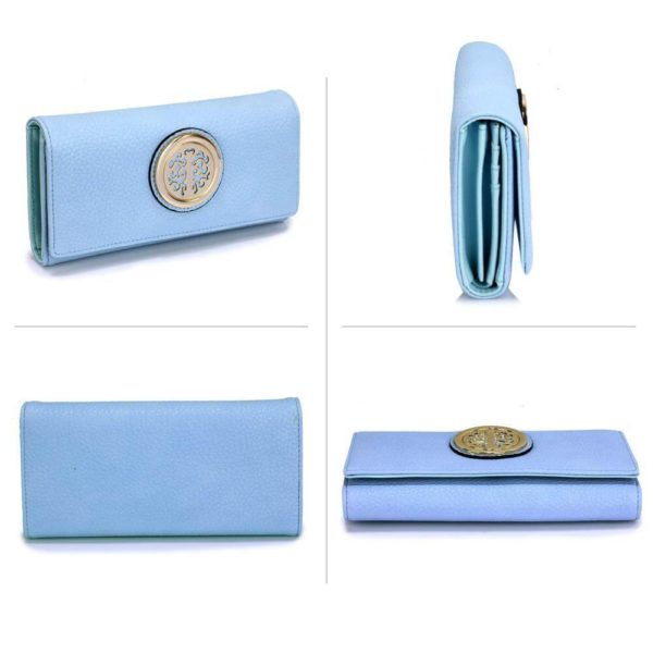lsp1039a – blue purse wallet with metal decoration_3_