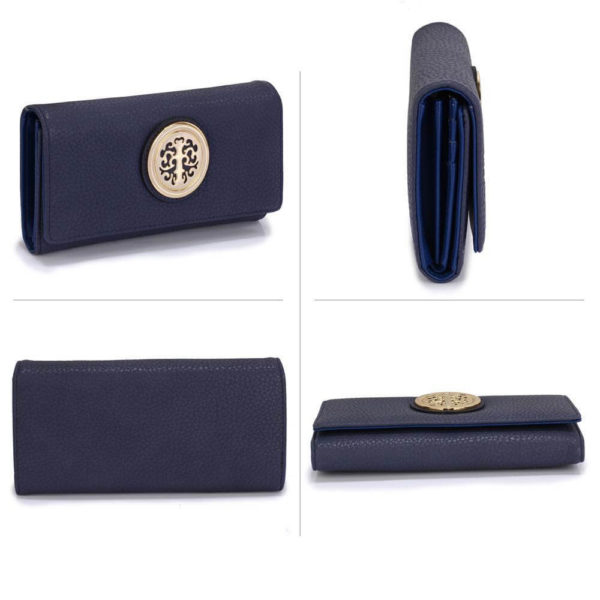 lsp1039a – navy purse wallet with metal decoration_3_