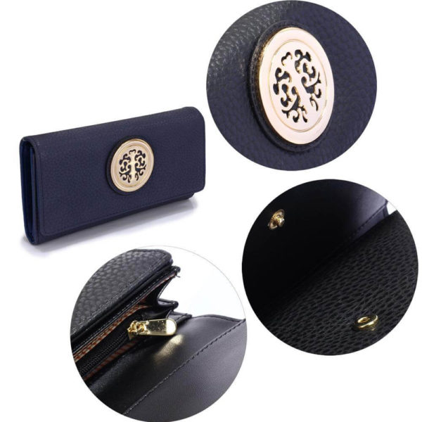 lsp1039a – navy purse wallet with metal decoration_5_