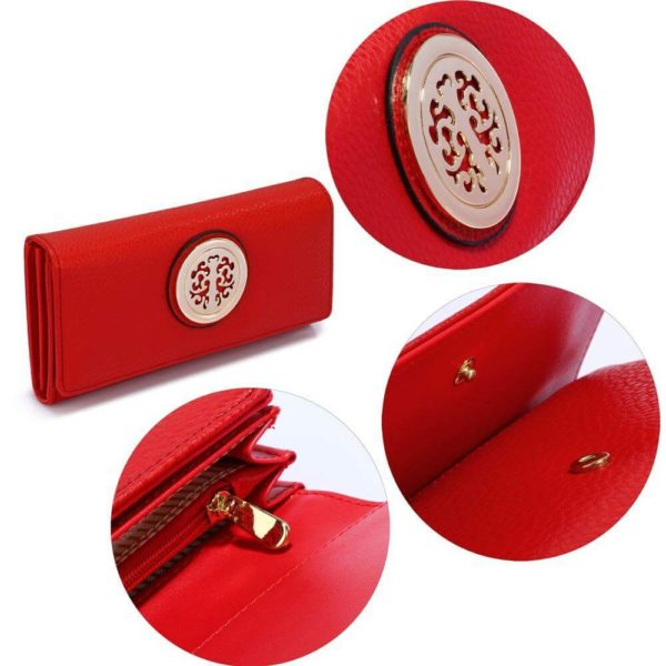 lsp1039a – red purse wallet with metal decoration_5_
