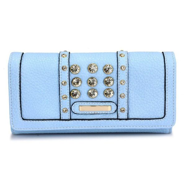 lsp1041a – blue purse wallet with crystal decoration_1_
