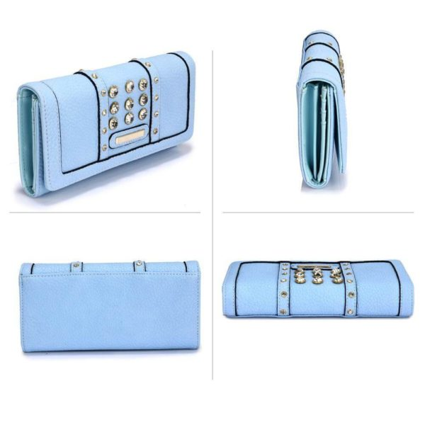 lsp1041a – blue purse wallet with crystal decoration_3_