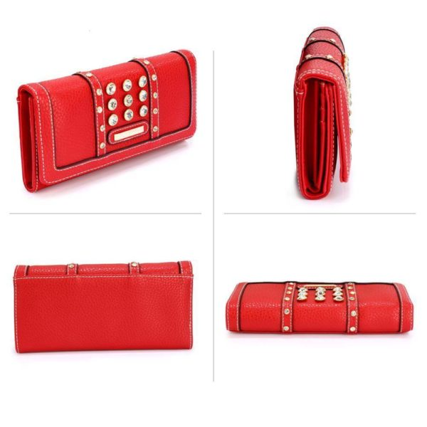 lsp1041a – red purse wallet with crystal decoration_3_