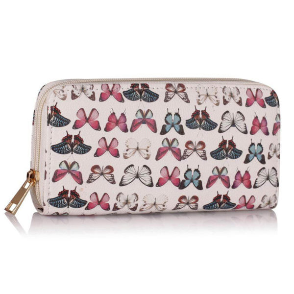 lsp1049-white-butterfly-design-purse-wallet