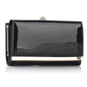 Patent Clutch Wallet Purses
