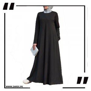 Layered Abaya New Design black