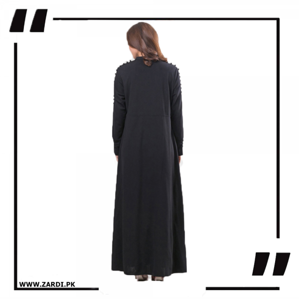 AA06 Black Maxi with A Line Style black – PNG