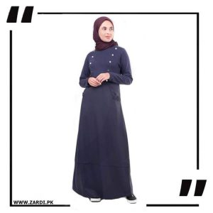 Golden Buttons Maxi Abaya