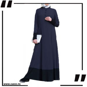 Two tone Long Maxi Abaya