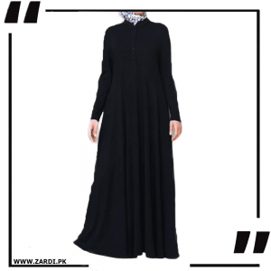 Shirtdress Abaya with Godets