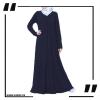 Flared Simple Dress Abaya