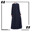 ZA24 Navy Airline Maxi with Front Platelets