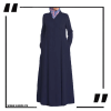 ZA30 Navy Coat Style Abaya
