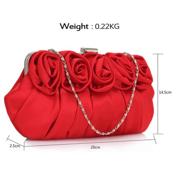 lse00287-red-flower-design-satin-evening-bag-3