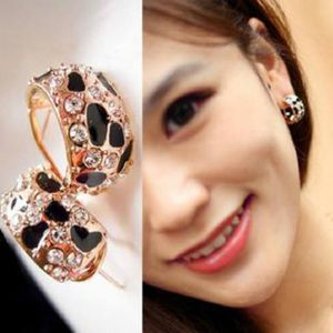 Shinny Rhinestone Crystal Stud Earrings