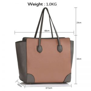 GreyNude Women Large Tote Bag