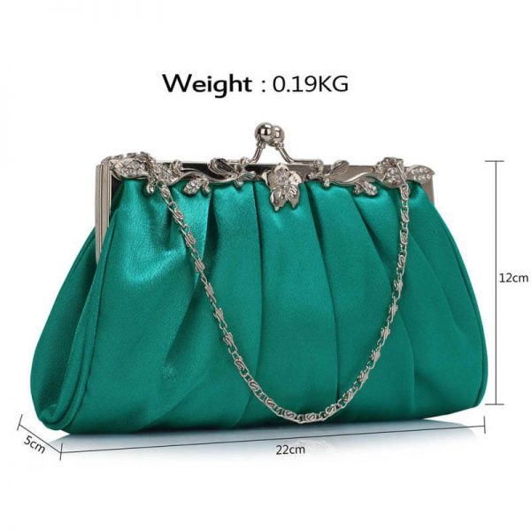 LSE0098 – Turquoise Crystal Evening Clutch Bag_(3)