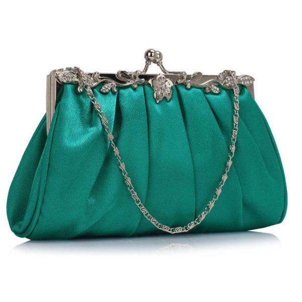 LSE0098 – Turquoise Crystal Evening Clutch Bag__(1)