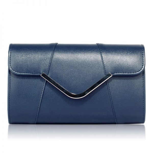 Navy Flap Clutch Purse – LSE00329A_1_
