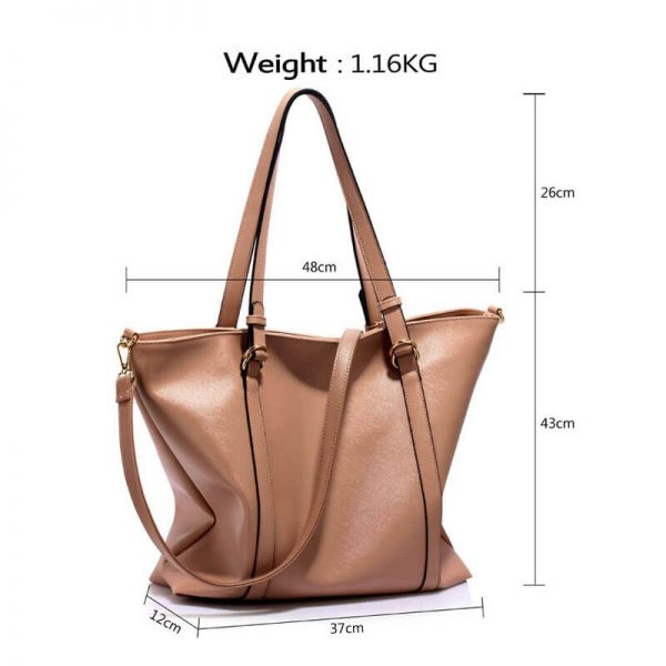 Nude Handbag For Women – LS00413_(4)