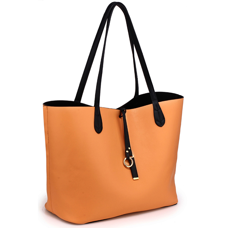 Black/Large Tote Bag
