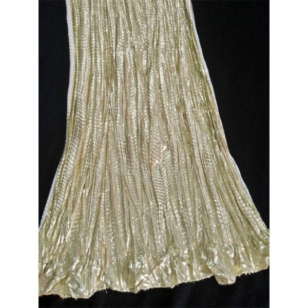 ZD32 Golden Crush Dupatta Cotton Shinny 2