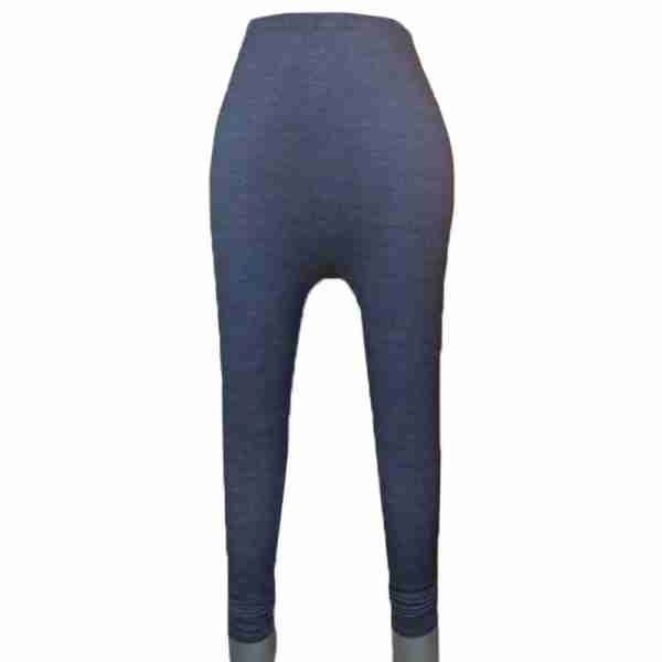 ZL08- Navy Denim Stretchable Ladies Leggings Tights