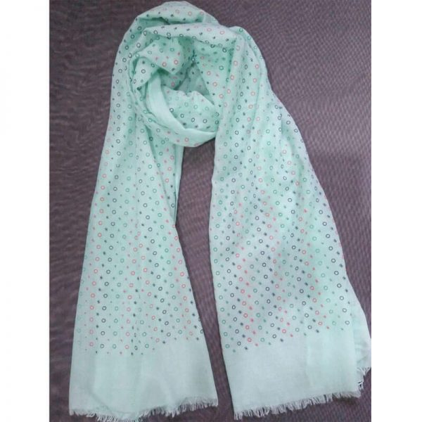 ZSC23– Mint Lawn Scarf Stole Large