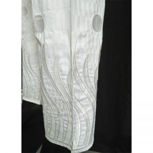 Embroided White Trouser Free Size White Trouser Free Size