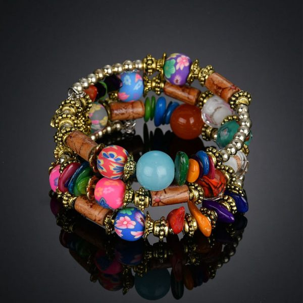 1 MultiColor Bracelet Handmade For Her