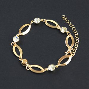 golden Trendy Adjustable Bracelet