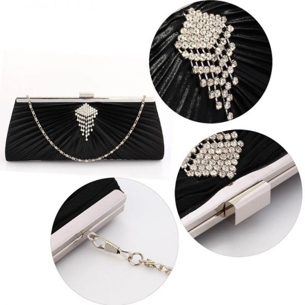 Black Clutch Bag With Crystal Decoration – LSE00221__5_