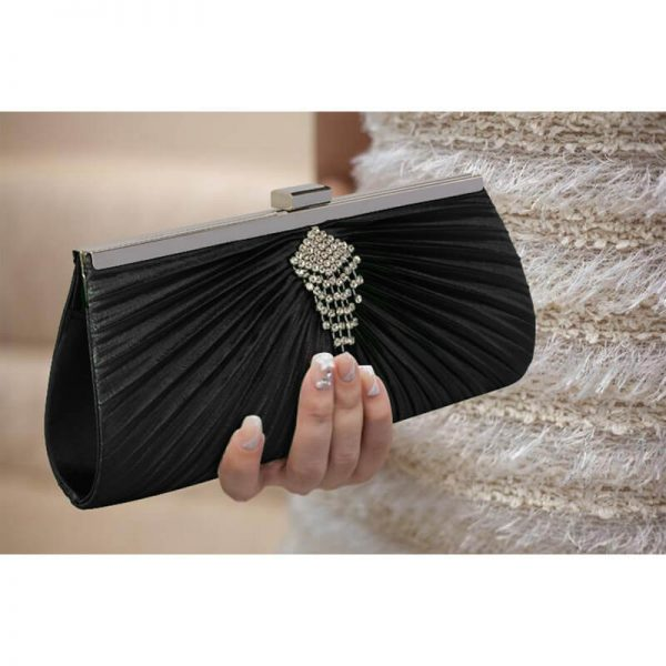 Black Clutch Bag With Crystal Decoration – LSE00221__6_