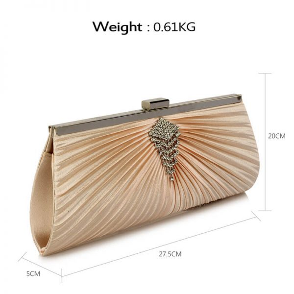 Champagne Clutch Bag With Crystal Decoration – LSE00221__2_