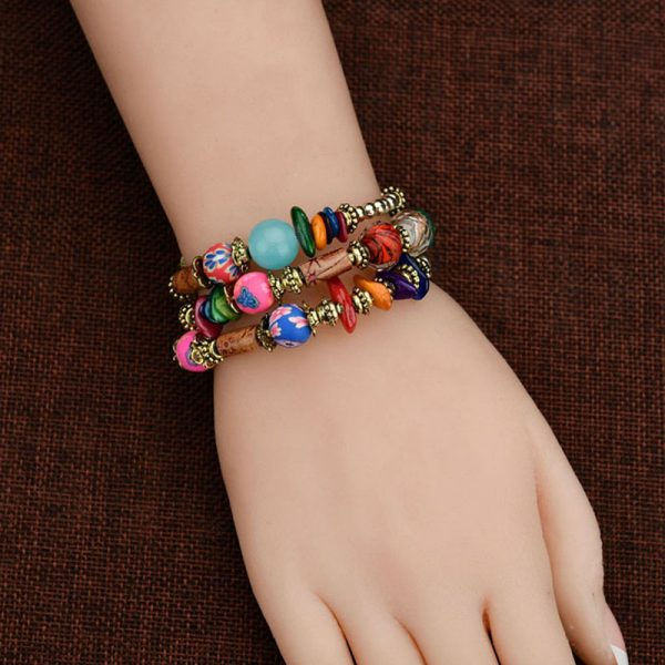 MultiColor Bracelet Handmade For Her–
