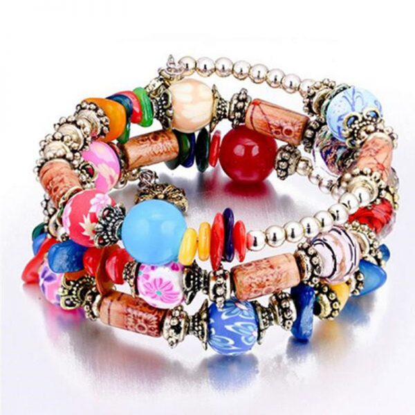 MultiColor Bracelet Handmade For Her—-