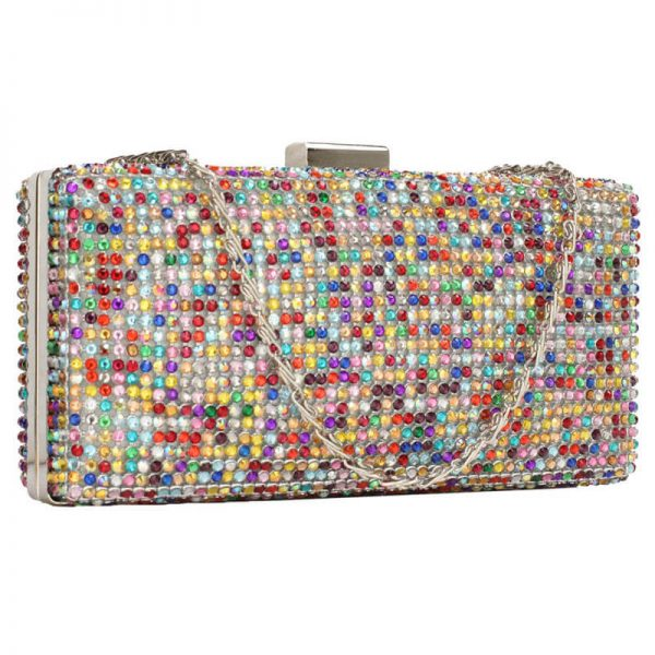 MultiColor Sparkly Evening Clutch – LSE00190_(1)