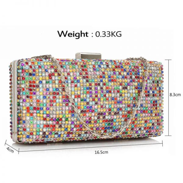 MultiColor Sparkly Evening Clutch – LSE00190__(3)