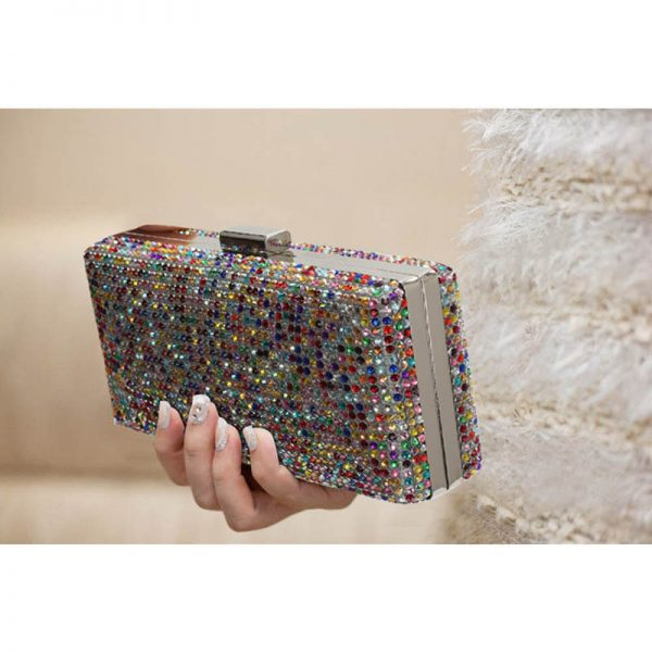 MultiColor Sparkly Evening Clutch – LSE00190__(4)