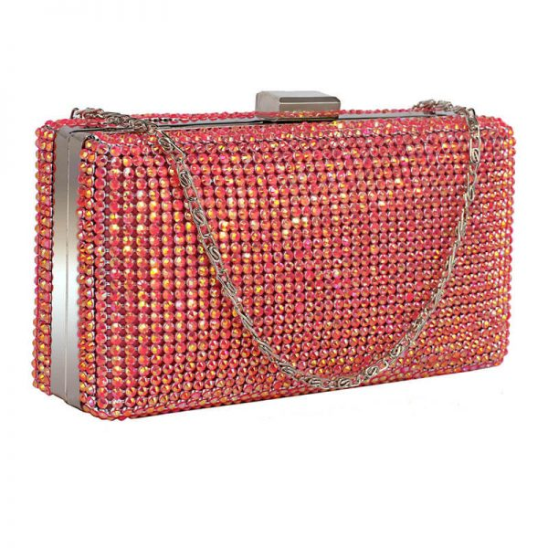 Pink Sparkly Evening Clutch – LSE00190__1_
