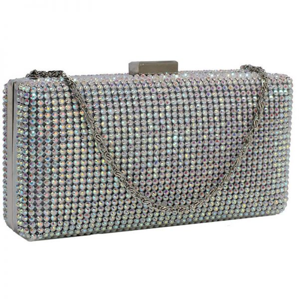 Sparkly Evening Clutch – LSE00190_AB White
