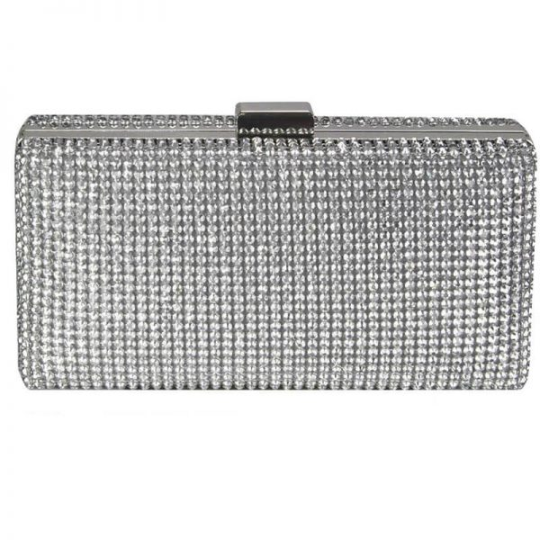 Sparkly Evening Clutch – LSE00190_Silver