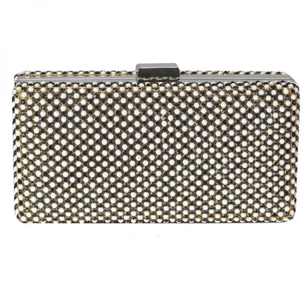black ivory Sparkly Evening Clutch – LSE00190
